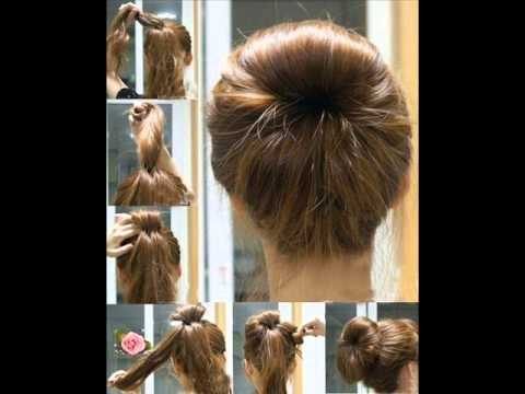 صوره تسريحات بسيطة للشعر الطويل , اجمل صور الشعر الطويل وطريقة تسريحة