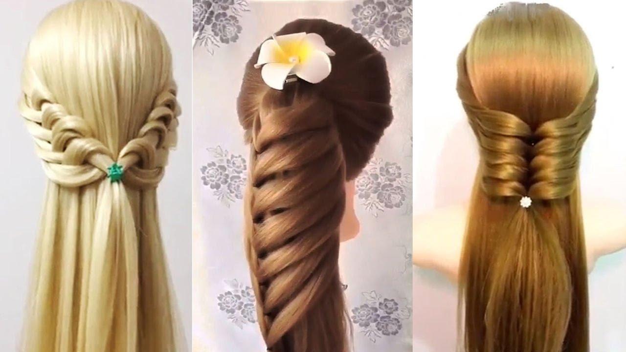 بالصور تسريحات بسيطة للشعر الطويل , اجمل صور الشعر الطويل وطريقة تسريحة 1260 3