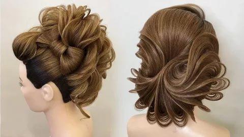 بالصور تسريحات بسيطة للشعر الطويل , اجمل صور الشعر الطويل وطريقة تسريحة 1260 4