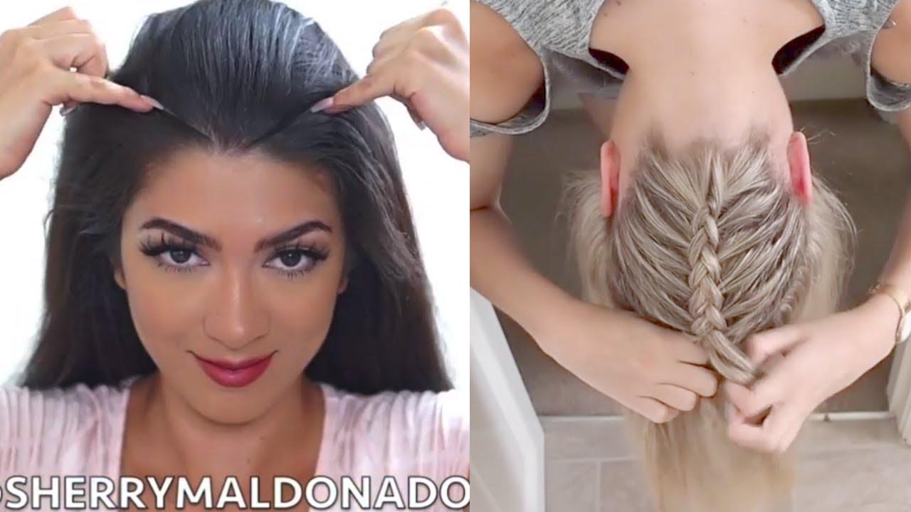 بالصور تسريحات بسيطة للشعر الطويل , اجمل صور الشعر الطويل وطريقة تسريحة 1260 6