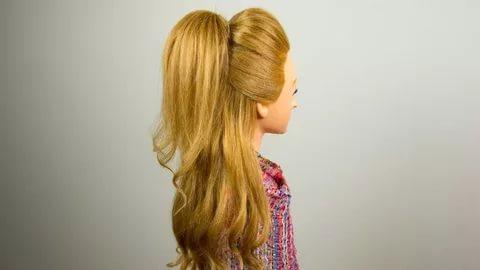 بالصور تسريحات بسيطة للشعر الطويل , اجمل صور الشعر الطويل وطريقة تسريحة 1260 8