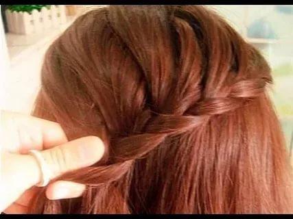 بالصور تسريحات بسيطة للشعر الطويل , اجمل صور الشعر الطويل وطريقة تسريحة 1260 9