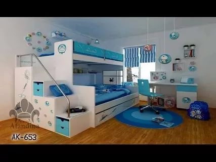 بالصور غرف نوم اطفال مودرن , اجمل التصميمات العصرية لغرفة طفلك اختارى منها 1271 3