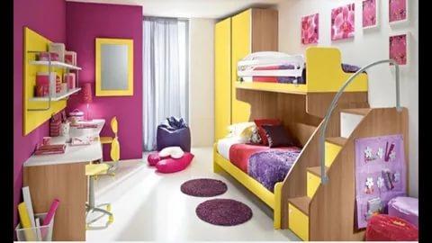 صوره غرف نوم اطفال مودرن , اجمل التصميمات العصرية لغرفة طفلك اختارى منها
