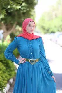 بالصور لبس بنات محجبات , احدث الموضات لملابس المحجبات 1302 1