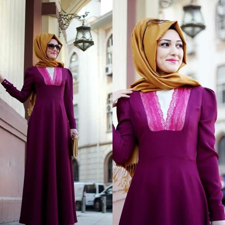 بالصور لبس بنات محجبات , احدث الموضات لملابس المحجبات 1302 2