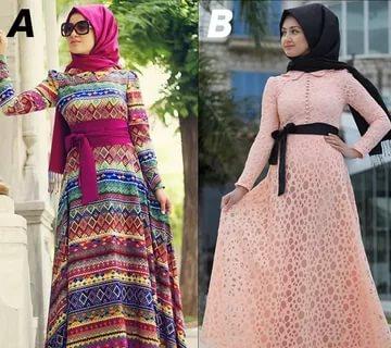 بالصور لبس بنات محجبات , احدث الموضات لملابس المحجبات 1302 3