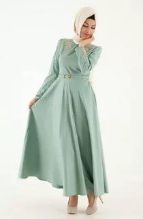 بالصور لبس بنات محجبات , احدث الموضات لملابس المحجبات 1302 5