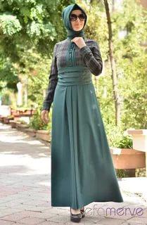 بالصور لبس بنات محجبات , احدث الموضات لملابس المحجبات 1302 6