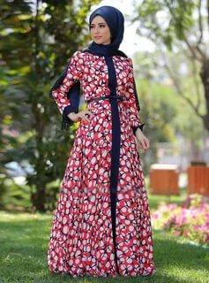 بالصور لبس بنات محجبات , احدث الموضات لملابس المحجبات 1302 7
