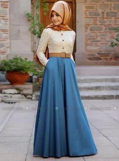 بالصور لبس بنات محجبات , احدث الموضات لملابس المحجبات 1302