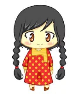بالصور رسومات بنات حلوه , اجمل صور الرسومات لوجوة الفتيات 1307 10