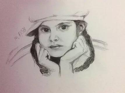 بالصور رسومات بنات حلوه , اجمل صور الرسومات لوجوة الفتيات 1307 3
