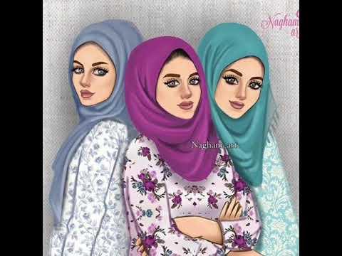 بالصور رسومات بنات حلوه , اجمل صور الرسومات لوجوة الفتيات 1307 5