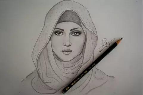 بالصور رسومات بنات حلوه , اجمل صور الرسومات لوجوة الفتيات 1307 7