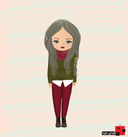 بالصور رسومات بنات حلوه , اجمل صور الرسومات لوجوة الفتيات 1307 8