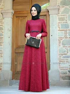بالصور فساتين دانتيل , تصميمات جميلة ورقيقة لفساتين الدنتيل 1328