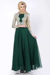 بالصور ملابس سهرة , اجمل لباس سوارية للمحجبات 1351 7