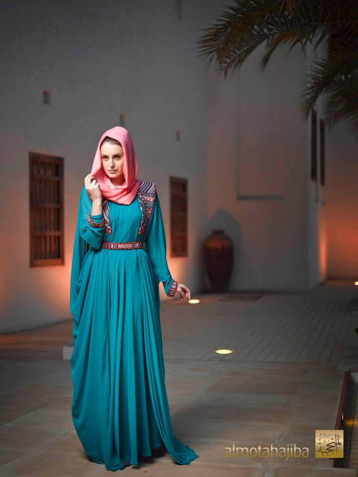 بالصور عبايات خليجية , صور حديثة للتصميمات العصرية للعباءة الخليجي 1365 7