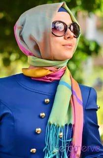 بالصور موضة الحجاب , اجدد صيحات الموضة للحجاب هذا الموسم 1378 8
