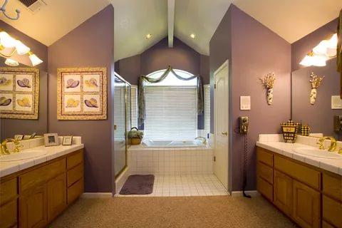 صوره ديكور حمامات منازل , اندور واجمل الديكورات لحمام منزلك
