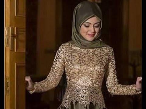 بالصور احدث فساتين سواريه , فستان سوارية شيك محتشم مناسب للمحجبات 1445 1