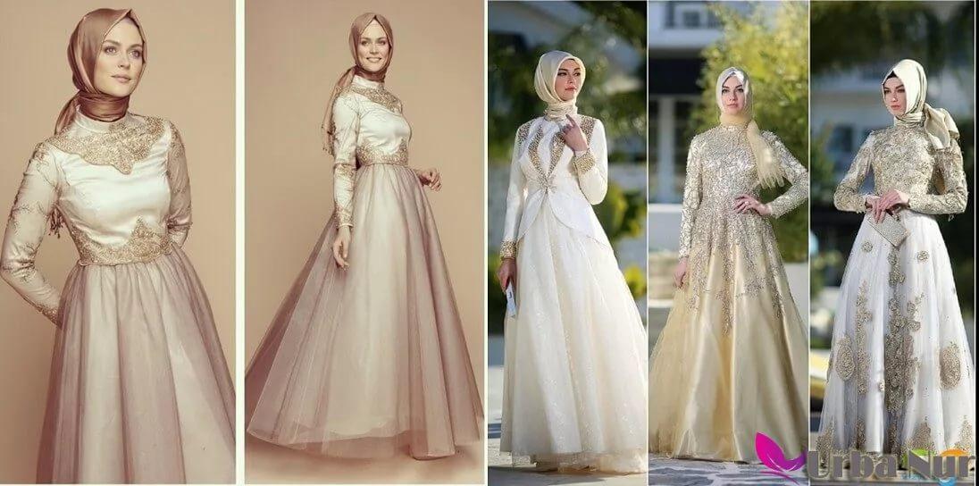 بالصور احدث فساتين سواريه , فستان سوارية شيك محتشم مناسب للمحجبات 1445 3