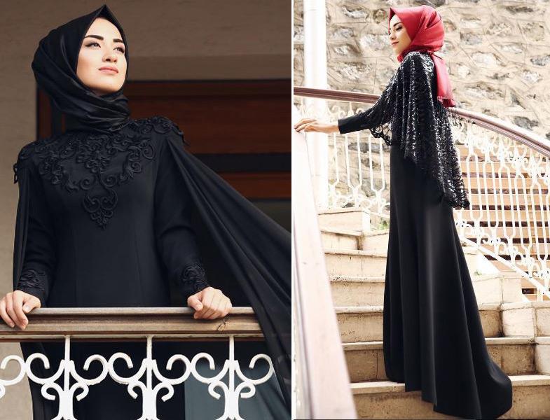 بالصور احدث فساتين سواريه , فستان سوارية شيك محتشم مناسب للمحجبات 1445 9