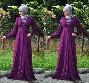 بالصور احدث فساتين سواريه , فستان سوارية شيك محتشم مناسب للمحجبات 1445