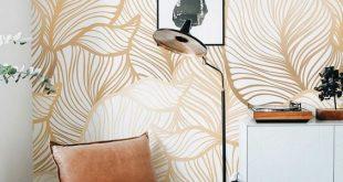 صور اشكال ورق جدران , اخفاء عيوب الجدران واطلالات عصرية من خلال ورق الحائط