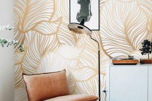 صورة اشكال ورق جدران , اخفاء عيوب الجدران واطلالات عصرية من خلال ورق الحائط