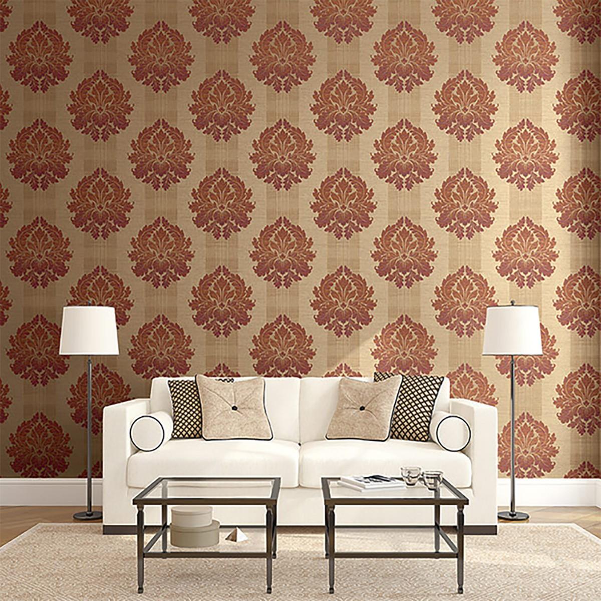 بالصور اشكال ورق جدران , اخفاء عيوب الجدران واطلالات عصرية من خلال ورق الحائط 1466 3