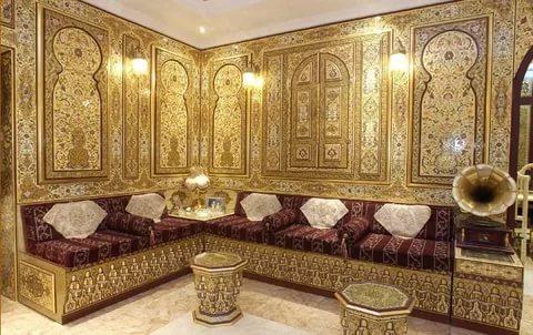 بالصور ديكور مغربي , اجمل التصميمات الفنية المميزة للديكورات المغربية 267 3