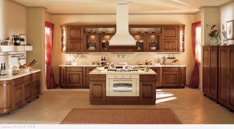 بالصور الوان مطابخ خشب , احدث تدريجات الالوان الجميلة للمطابخ الخشب 279 4