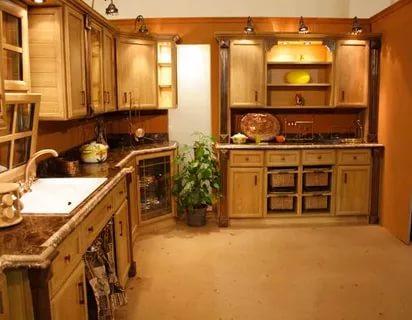 بالصور الوان مطابخ خشب , احدث تدريجات الالوان الجميلة للمطابخ الخشب 279 6