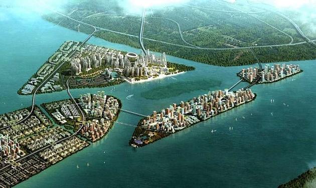 بالصور اكبر جزيرة صناعية في العالم , جزر صناعيه كثيرة والاكبر في العالم 2817 5