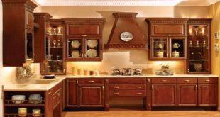 صور مطابخ خشب , افضل الصور لاشكال المطابخ الخشب