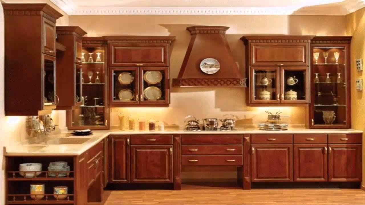 صورة مطابخ خشب , افضل الصور لاشكال المطابخ الخشب
