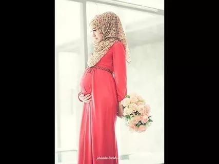 بالصور ملابس الحوامل , احدص التصميمات الجميلة للبس الحامل المحجبة 293 9