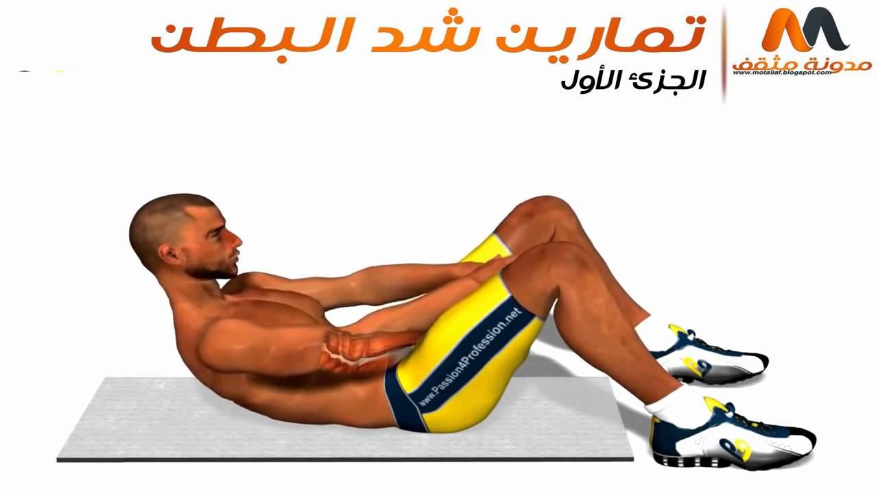 بالصور تمارين شد البطن للرجال , فيديو يوضح اسهل تمارين لتقوية عضلات البطن 296