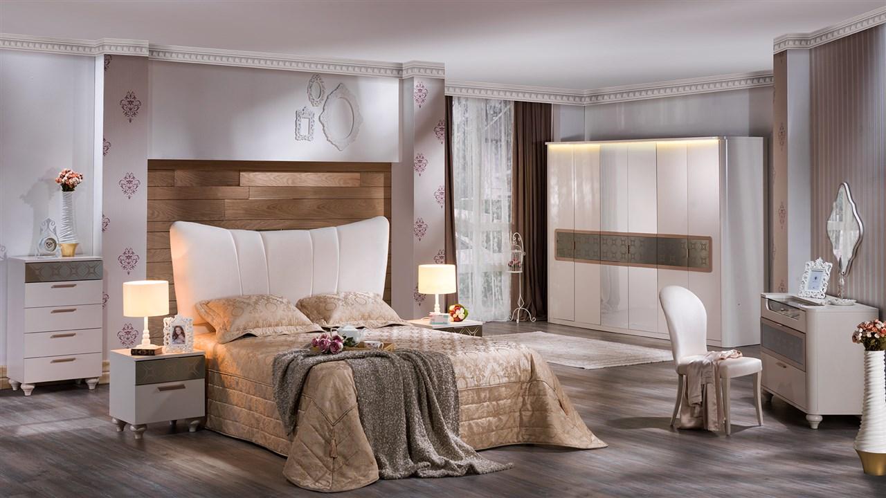 بالصور غرف نوم بيضاء , احدث الصور والتصميمات لغرفة النوم بدهان ابيض 336 10
