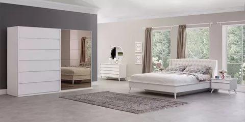 بالصور غرف نوم بيضاء , احدث الصور والتصميمات لغرفة النوم بدهان ابيض 336 11