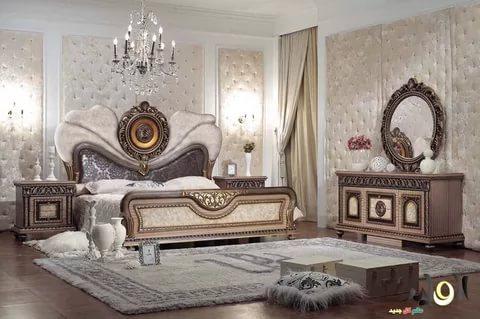 بالصور غرف نوم بيضاء , احدث الصور والتصميمات لغرفة النوم بدهان ابيض 336 2