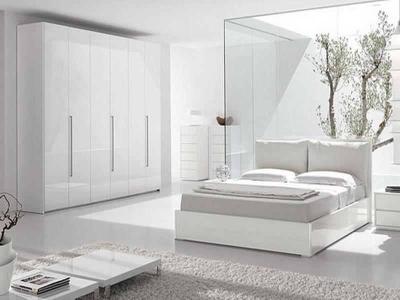 بالصور غرف نوم بيضاء , احدث الصور والتصميمات لغرفة النوم بدهان ابيض 336 3