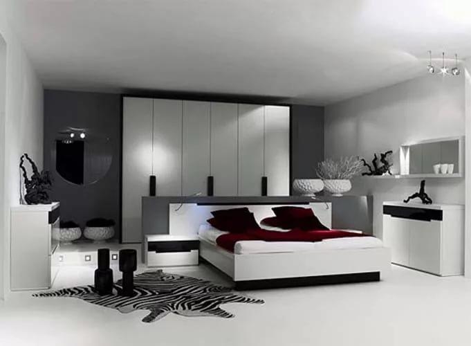 بالصور غرف نوم بيضاء , احدث الصور والتصميمات لغرفة النوم بدهان ابيض 336 4