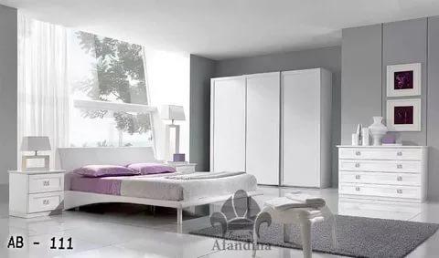 بالصور غرف نوم بيضاء , احدث الصور والتصميمات لغرفة النوم بدهان ابيض 336 5