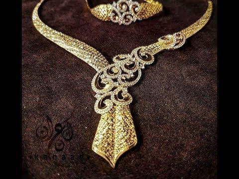 بالصور طقم ذهب , احدث التصميمات لاطقم الذهب لشبكة العروس 355 5