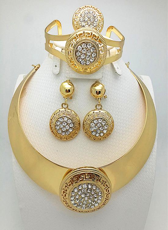 بالصور طقم ذهب , احدث التصميمات لاطقم الذهب لشبكة العروس 355 6