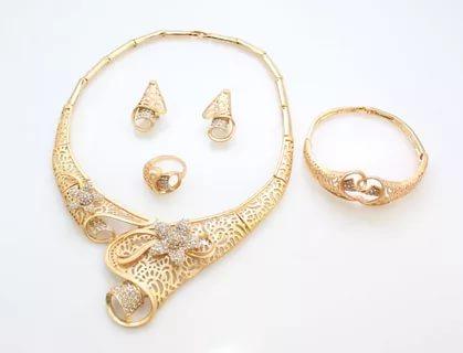 بالصور طقم ذهب , احدث التصميمات لاطقم الذهب لشبكة العروس 355 7