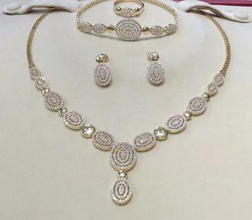 بالصور طقم ذهب , احدث التصميمات لاطقم الذهب لشبكة العروس 355 8